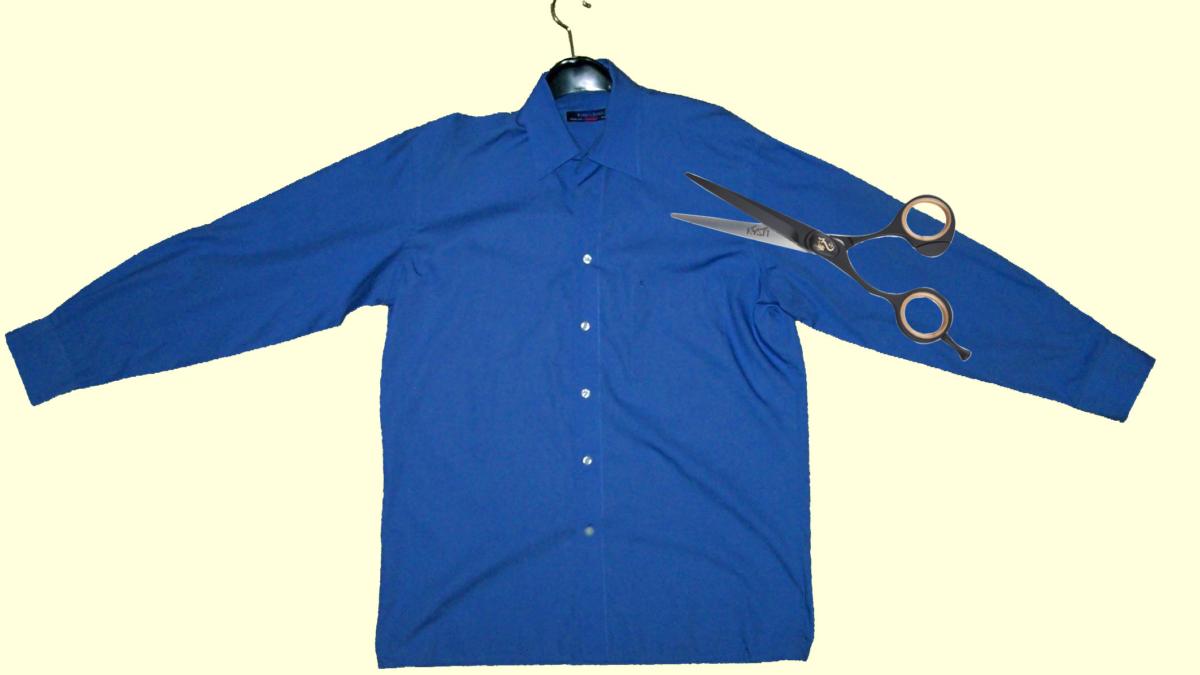 Idee per Riciclare Camicie da Uomo
